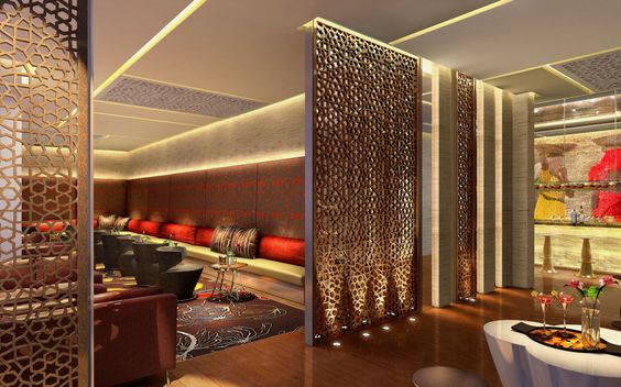 10 innovative partition wall ideas happho for Interior design partition wall