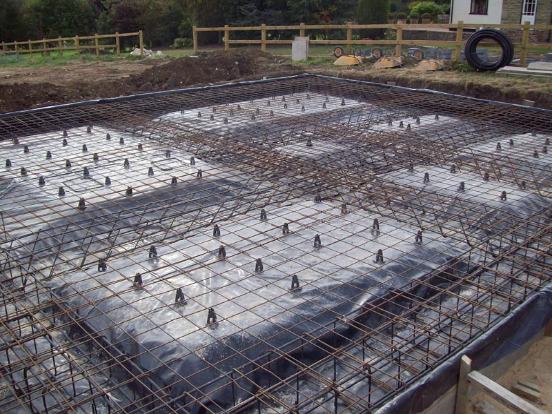 Criteria for the selection of type of foundation happho for House building foundation types