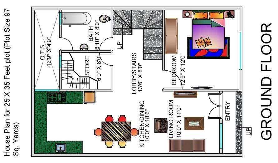 Glamorous 25 X 25 Floor Plans Gallery - Plan 3D house - goles.us ...