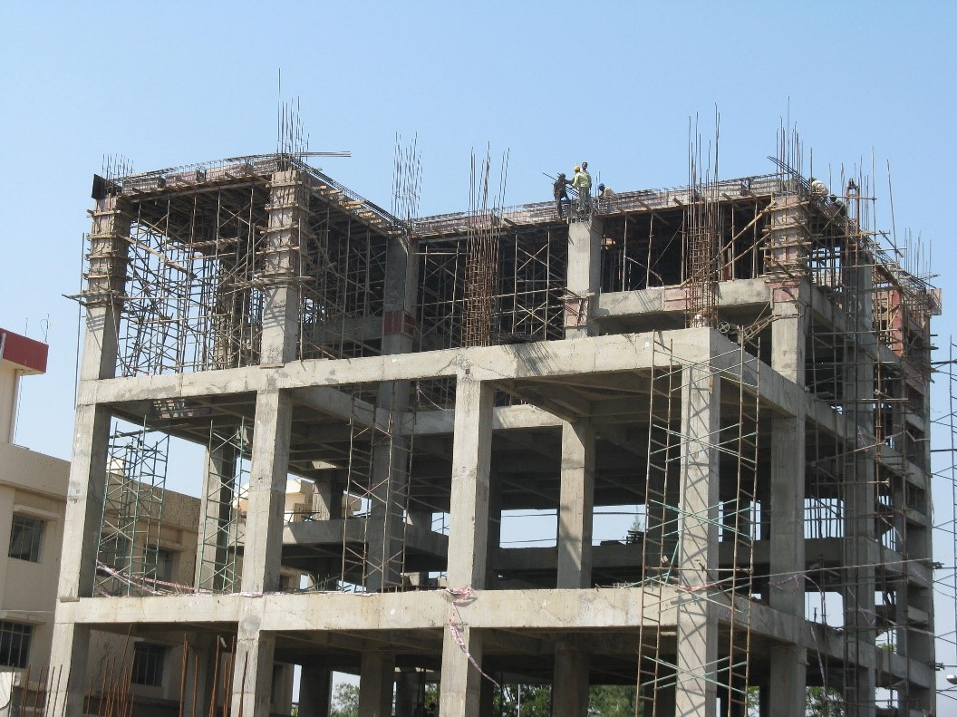 Cement House Construction : Steel structure vs rcc concrete buildings