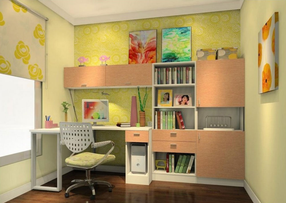 7 tips and ideas to effectively design your study rooms for Study room wall cabinets
