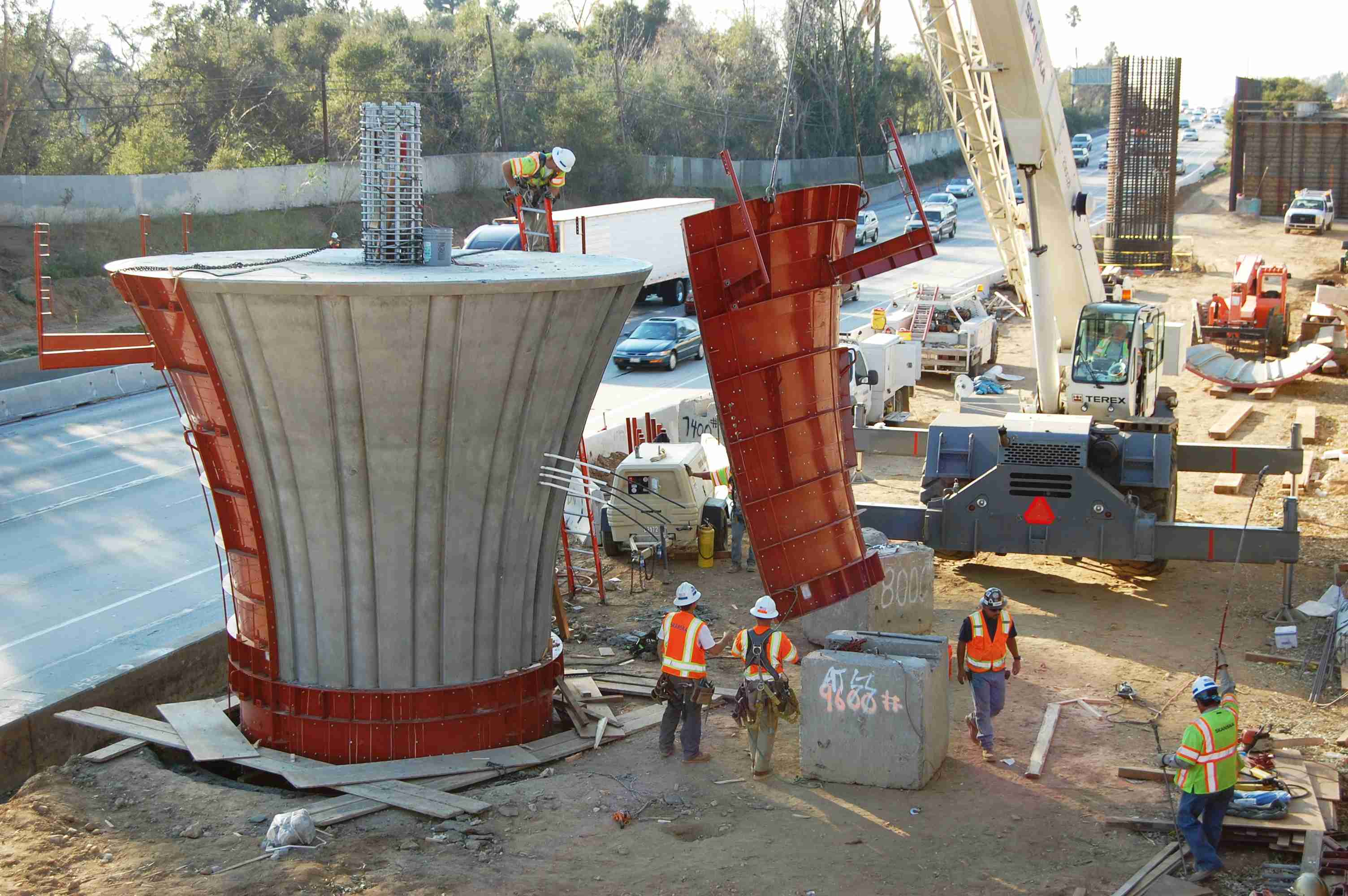 Shuttering For Bridges : Concrete formwork removal time specifications happho