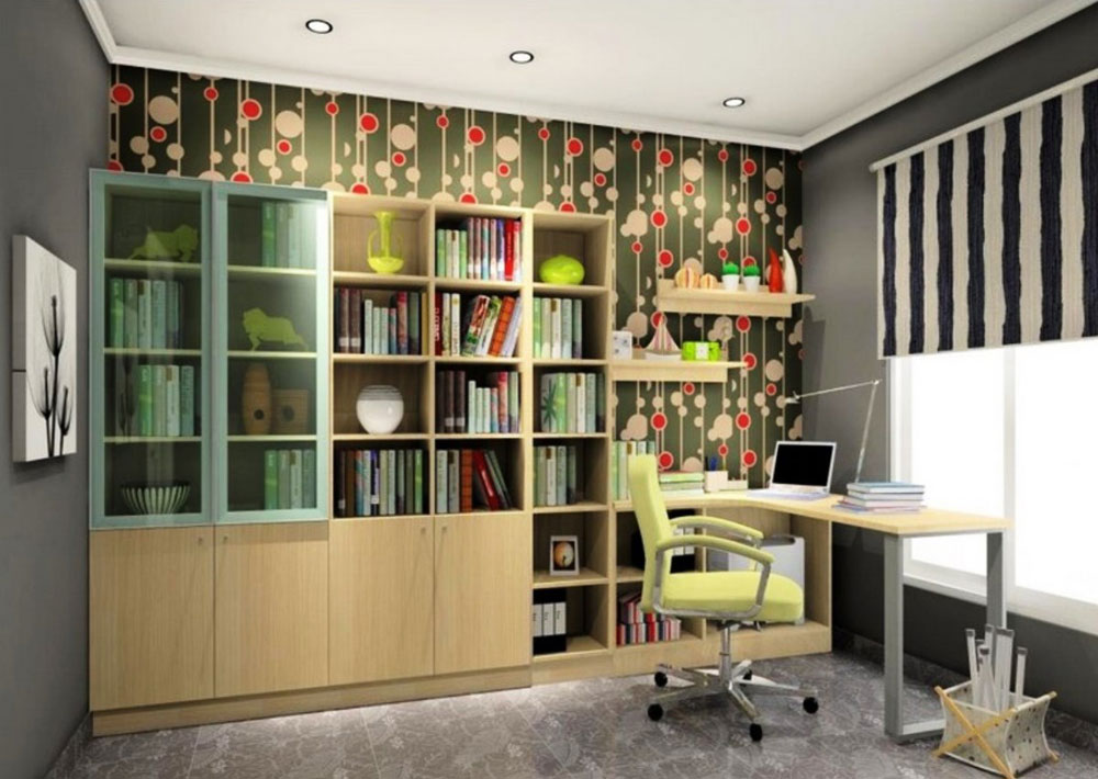 7 tips and ideas to effectively design your study rooms - Modern study room ideas ...