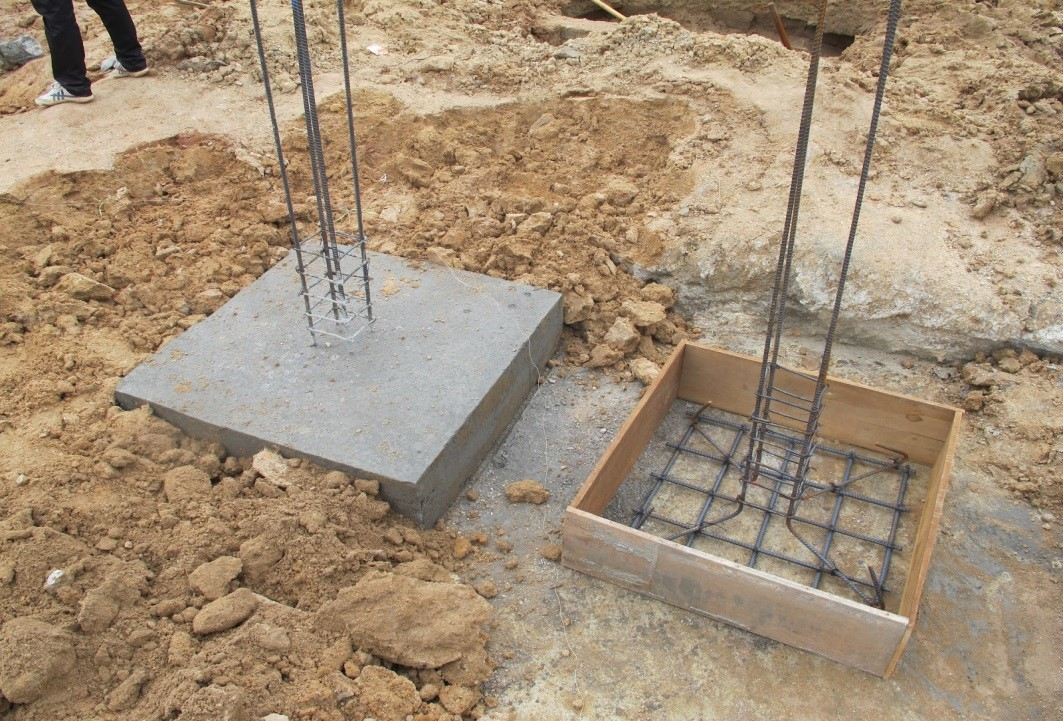 Tips and checks for constructing rcc foundation properly for Concrete pillars for foundation