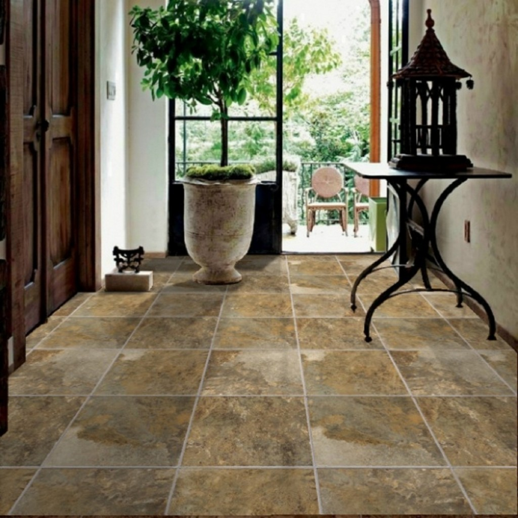 Vitrified tiles granite or marble which is a better Interior tile floor designs