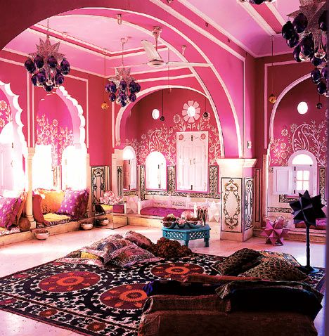 Interior inspirations from traditional indian havelis happho for Indian interior design inspiration