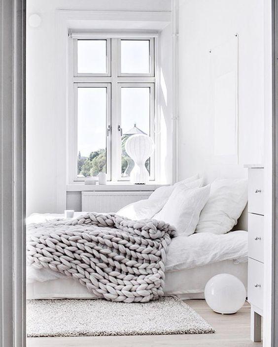 Stunning All White Interior Ideas - Happho