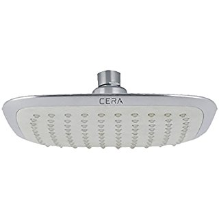 Buy Cera Overhead Rain Shower Square Best Rates Happho