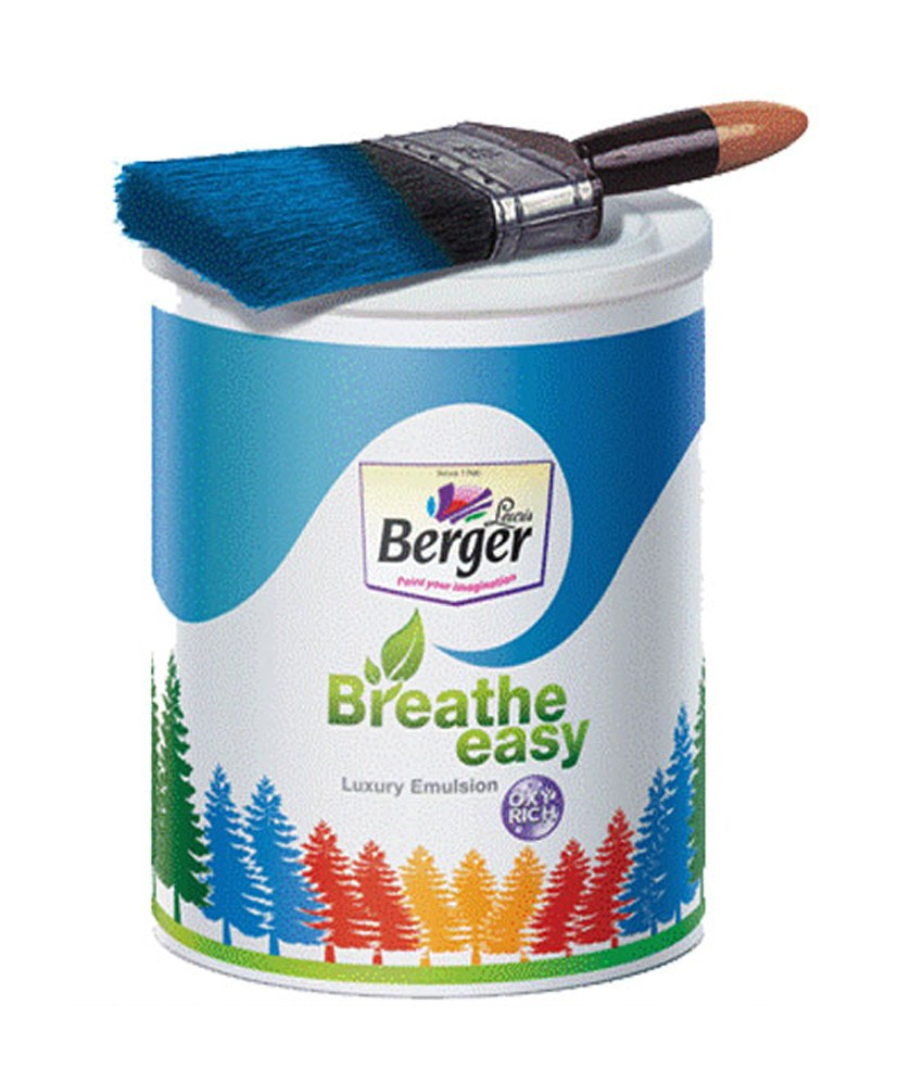 Berger Paints Interior: Breathe Easy Enamel At Best Rates
