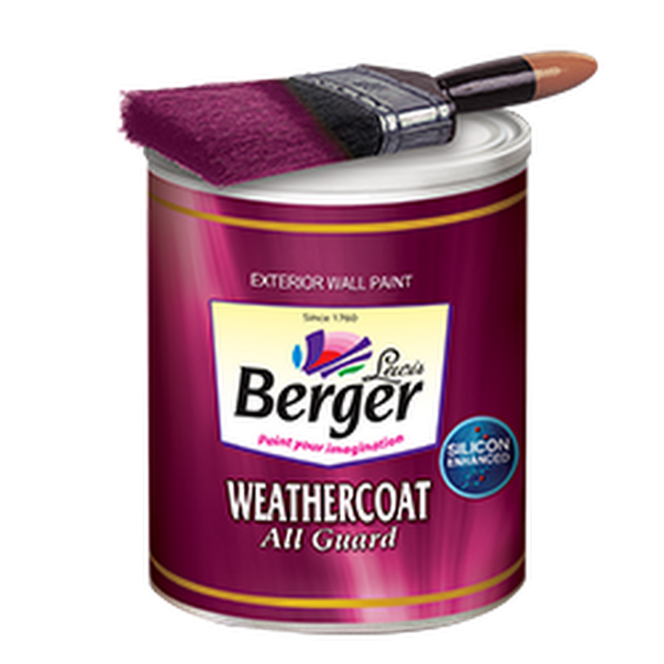 Berger Paints Interior: WeatherCoat All Guard At Best Rates