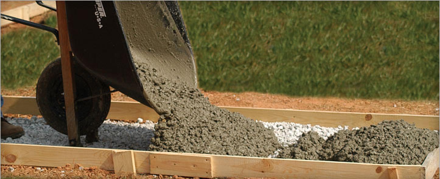 песчано цементная смесь для фундамента