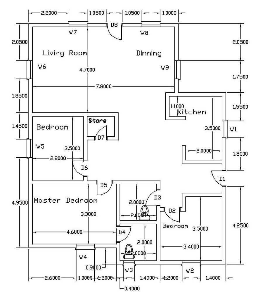 How To Read A House Floor Plans?