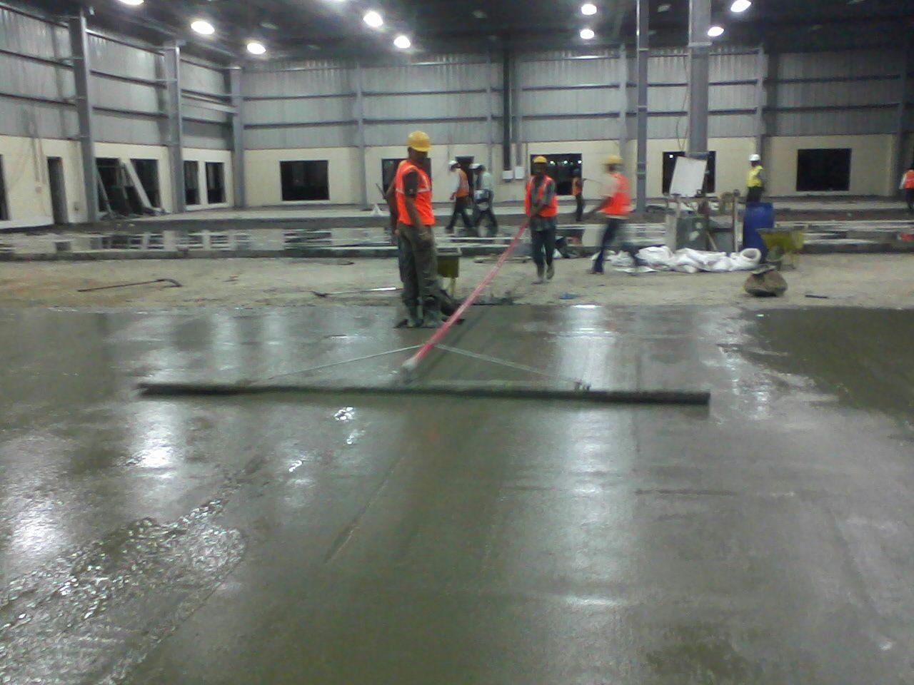 Fibre Reinforced Concrete Frc Flooring For Heavy Duty