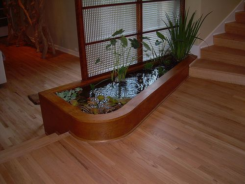 Water As An Element Of Interior Design In House