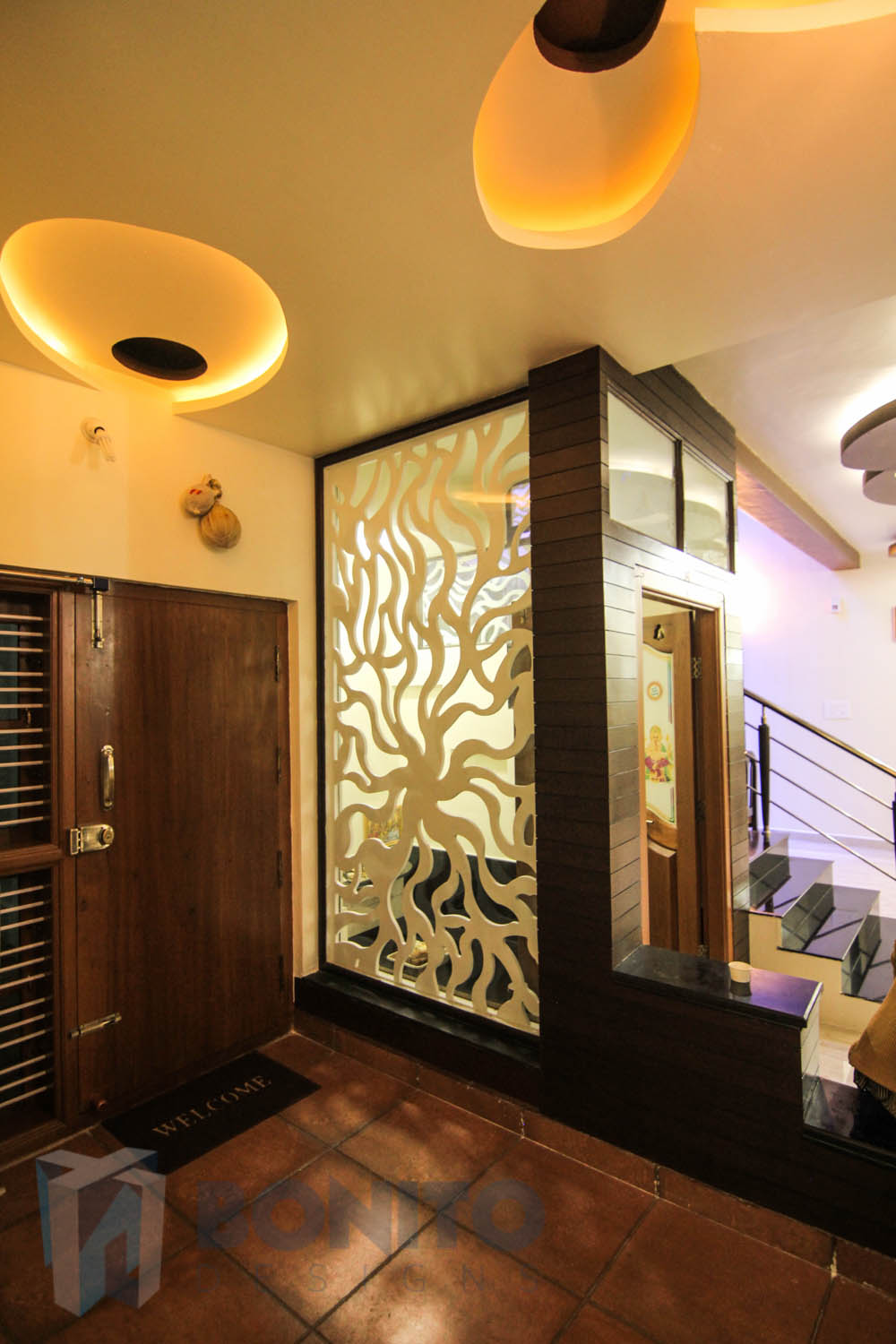 Location Idea Puja Room In Living Near Entrance