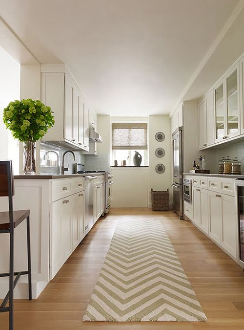 Kitchen Design Long Narrow Room: Different Alternatives For Kitchen Layouts