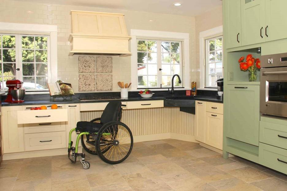 kitchen design for the elderly guidelines for barrier free built for disabled and elderly 604