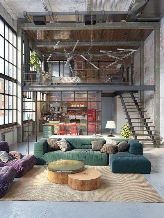 High Quality Choosing Rustic Industrial Colors To Gear Up The Space