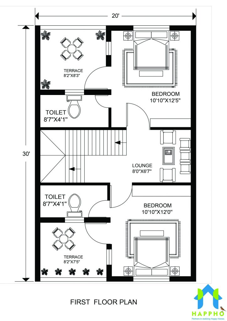 Floor Plan for 20 X 30 Feet plot | 3-BHK (600 Square Feet/67 ... on small square house plans, small cape cod house plans, 700 square ft cabin plans, tiny house plans, 600 sq ft cabin plans, 20 by 40 house plans, 600 sq.feet floor plans, 850 sq ft cabin plans, 600 sq ft apartment plans, 400 ft studio plans, barn garage with roof plans, 400 sf house plans, new orleans shotgun style house plans, non split bedroom house plans, 20 by 30 house plans, 300 sq ft studio plans, 20000 house plans, 200 sq ft cabin plans, 600 s.f. house plans, 600 sf home floor plans,