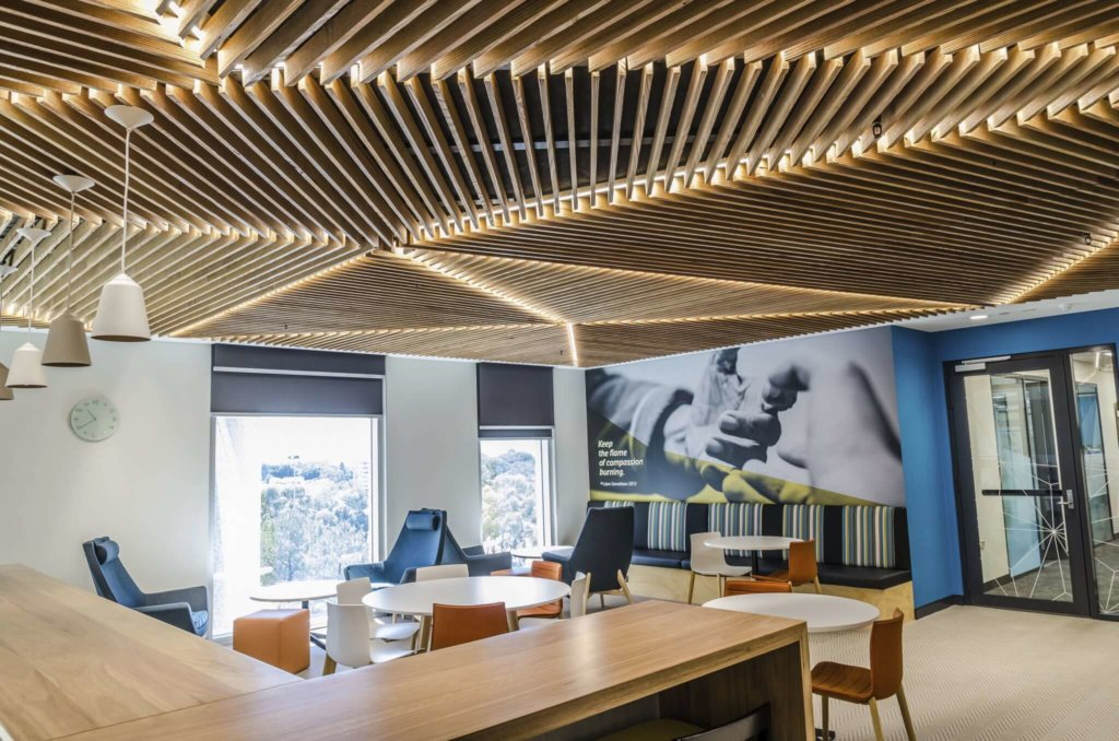 Acoustic proofing using false ceiling